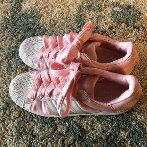 Adidas adicolor pink sneakers rare
